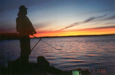 scanned 35mm picture taken July 2000 taken by my fishing bud Leonardo De Muskyo